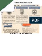Banderas de Nicaragua en Su Historia