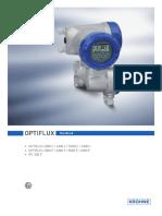 OPTIFLUX Handbook for Electromagnetic Flowmeters