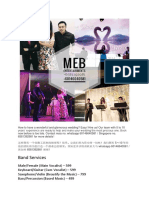 MEB Full Actual Day Package