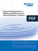 Wateruse Foundation Report on NDMA and Wastewater Treatment