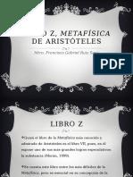 Libro Z, Metafísica de Aristóteles