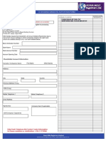 Flourmills Registrars e Dividend Mandate Form