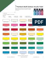 103327 5 2776 FolkArt Acrylic Paint