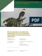 Atlas Regional de Impactos Derivados de Las Actividades Petroleras en Coatzacalcos,Veracruz