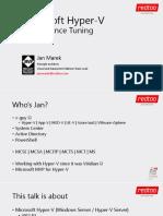 Marek Jan Microsoft Hyper v Performance Tuning