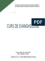 Curs Evangheologie 2012