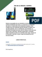 Baterias Ni CD