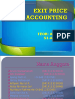 Ppt Exit Price Accounting Fix