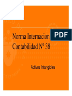 Norma Internacional de Contabilidad N° 38