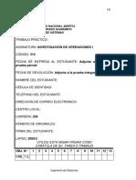 TRABAJO PRACTICO DE I.O.