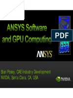 ANSYS Software and GPU Computing - Stan Posey