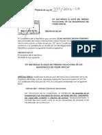 Proyecto de Ley Nº 339-2016-CR