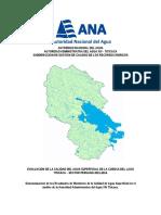 Resultados de Monitoreo de la ANA (Octubre 2014)