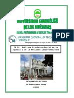 Análisis Histórico-social de La Iglesia y de La