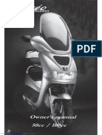 Peugeot Elyseo Owners Manual
