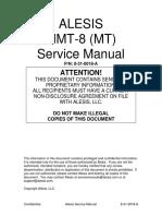 Alesis MMT8 Service Manual