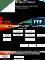 analisis Orientaciones didacticas