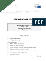 PANA Coordinators Meeting Agenda_12 October 2016