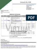 COTIZACION 4100 CUCEI