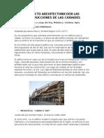 Proyecto Areuitectonicoen Las Construcciones de Las Ciudades
