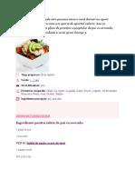 Salata de Pui Cu Avocado Este Grozava Atunci Cand Doresti Un Aport Nutritional Corect