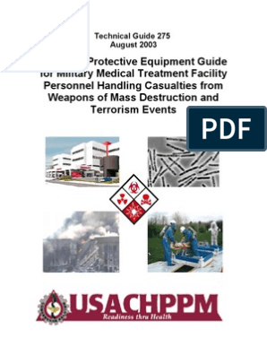 Personal Protective Equipment Guide TG-275, August 2003 | Virus ...