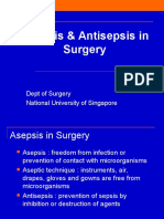 Asepsis & Antisepsis in Surgery
