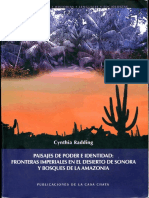 Cinthia Radding Paisajes de Poder (Fronteras Ecológicas y Culturales)