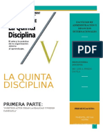 La Quinta Disciplina PRIMERA PARTE