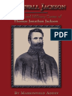 Stonewall Jackson - The Life and Military Career of Thomas Jonathan Jackson Sample