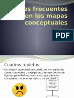 Errores Frecuentes en Los Mapas Conceptuales