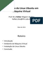 Aula 2 Maquina Virtual Linux Instalacao