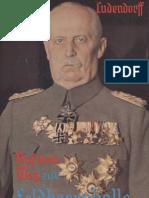 Ludendorff Erich - Auf Dem Weg Zur Feldherrnhalle (1937, 163 S., Scan, Fraktur)