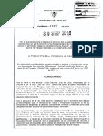 Decreto 1563 Del 30 de Septiembre de 2016