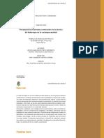 Recuperacion Del Sistema Constructivo en La Tecnica Del Bahareque en La Contemporaneidad
