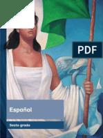 Espanol Libro de Texto.2015-2016.Primaria Sexto Grado