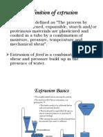 Extrusion Pre Conditioner