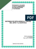 SISTEMAS DE INTELIGENCIA A TRAVES DEL ARTE Y LA ESTETICA
