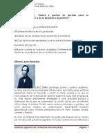 Alberdi y Las constituciones.