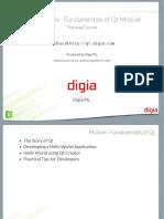 01 - Qt Essentials - Fundamentals of Qt Module