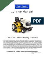 Cub Cadet 1000_1500 Service Manual