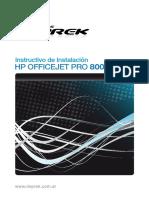 Instalacion Hp8000