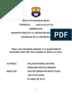 Agujeros Negros Monografía
