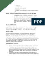 Medida Cautelar Anotacion de Demanda SUNARP PERU