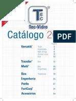 Catalogo Tec Vidro 2016