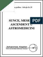 T-28-A Sunce, Mesec i Ascendent u Astromedicini