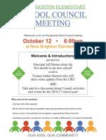 council meeting notice - october 12 2016