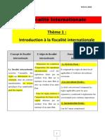 Résumé Fiscalité Internationale