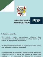 Proyecciones Axonométricas