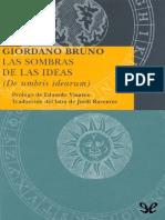 La Sombra de Las Ideas - Giordano Bruno